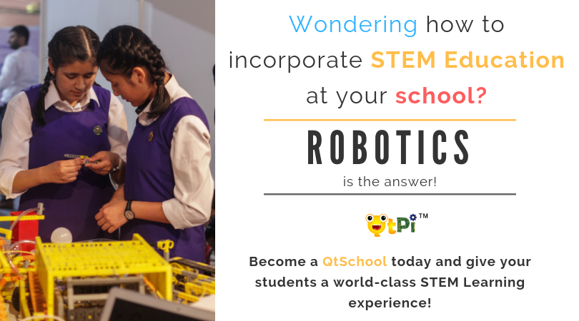 QtSchool: STEAM Education through Robotics for K12