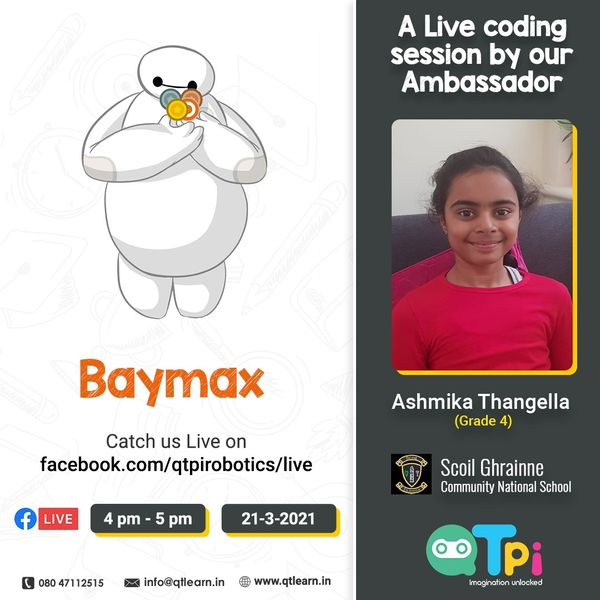 21st Students Ambassador: A Live Coding Session