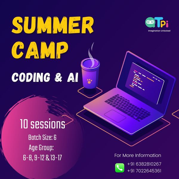Fun Online Summer Camp for Kids: Coding & AI